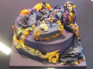 Grusel-Torte für Halloween