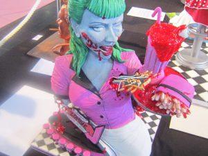 Gruselige 3D-Torte