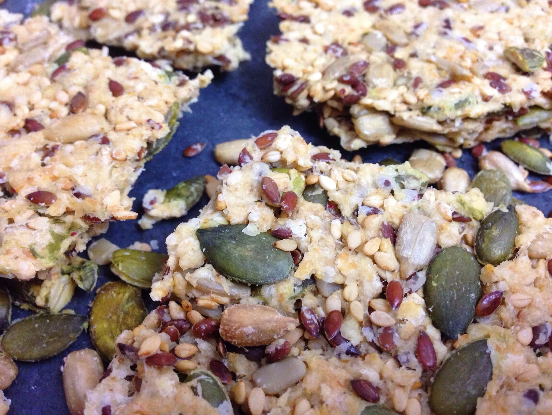 Brain Food: Eiweiß Cracker