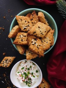 Dill-Nori-Sesam Cracker