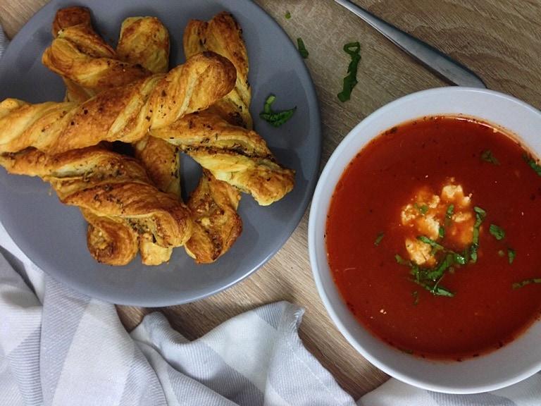 Parmesan-Knusperstangen
