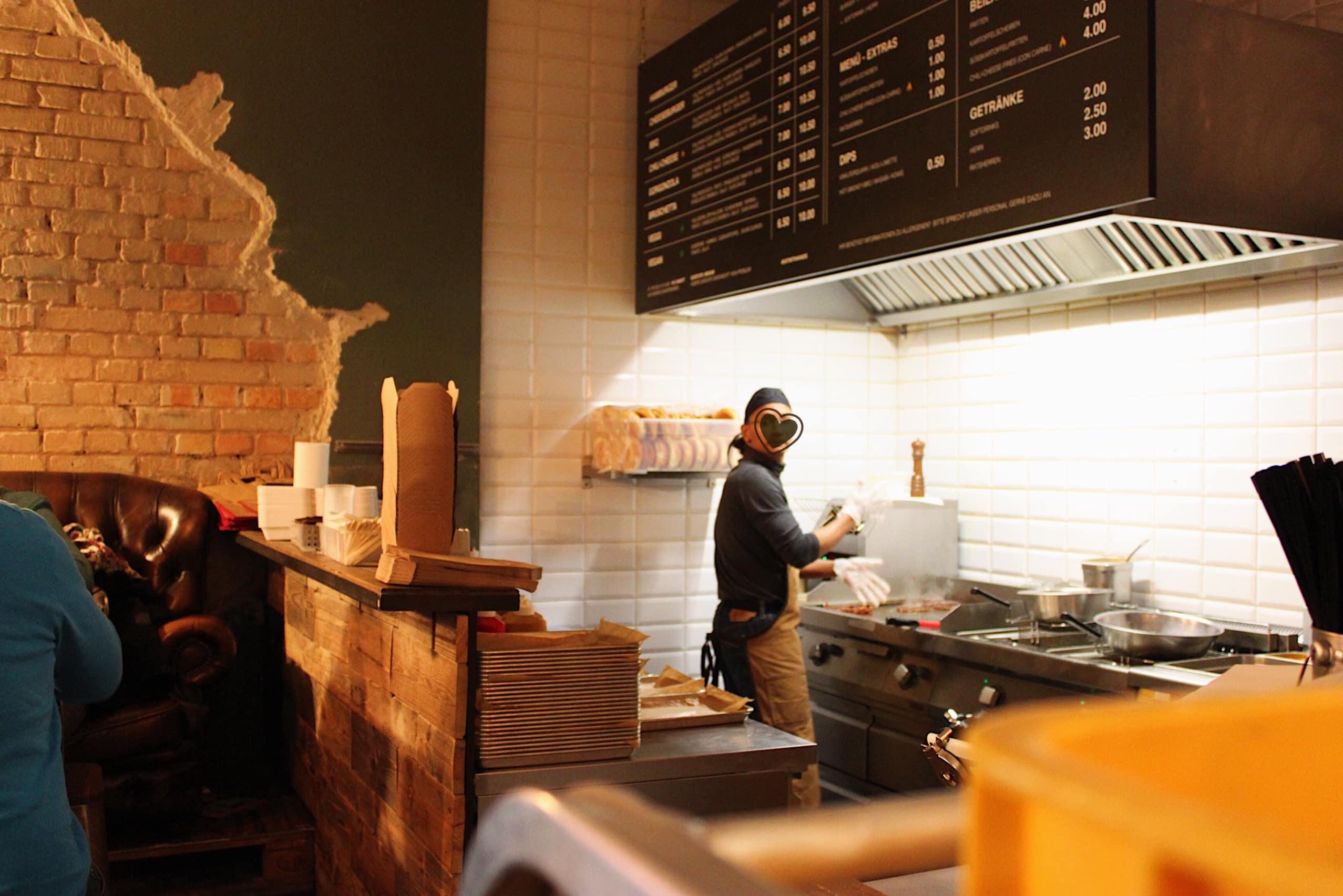 Duke Burger Hannover Kueche 1