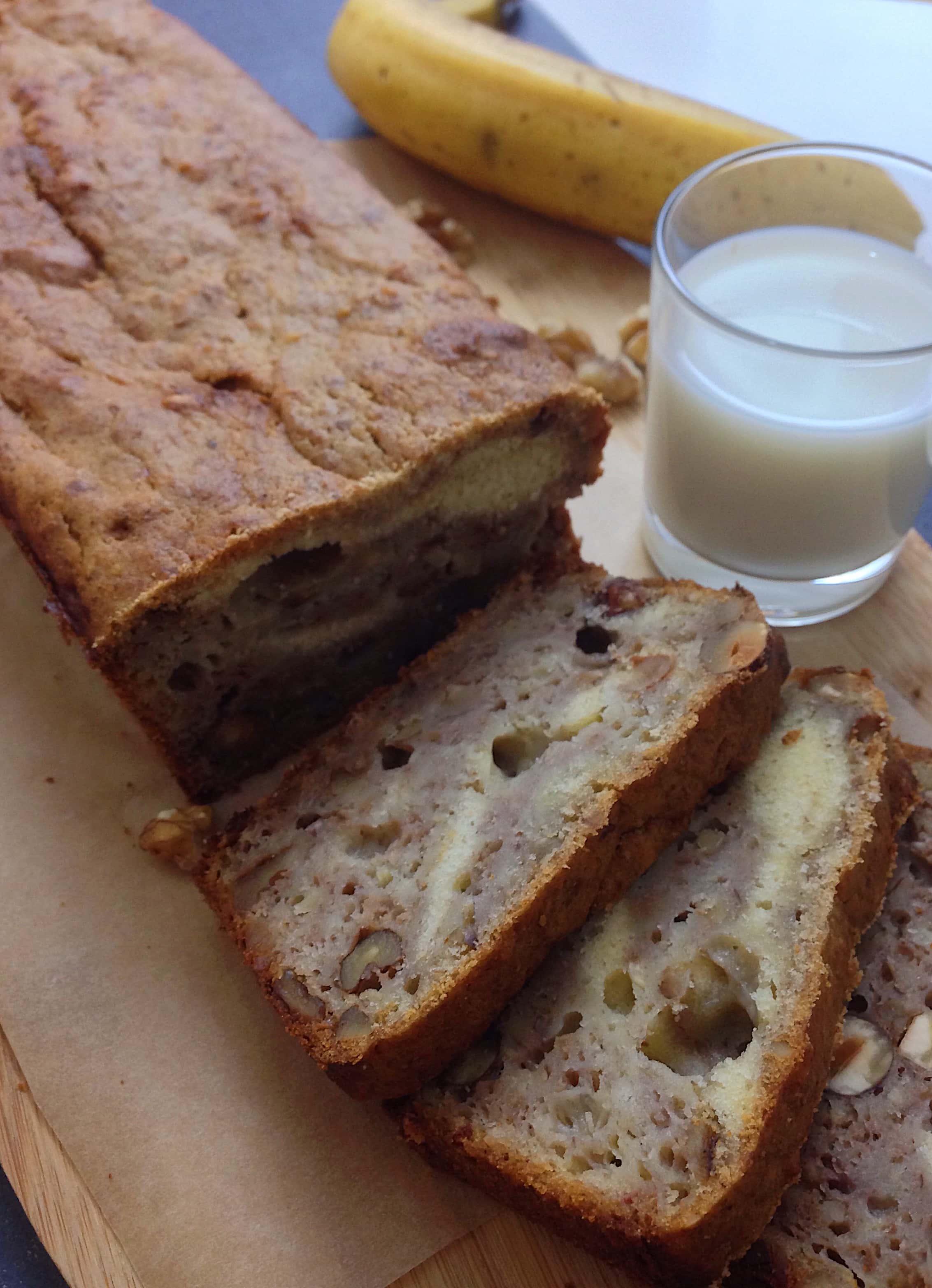 Banana Bread mit Walnüssen