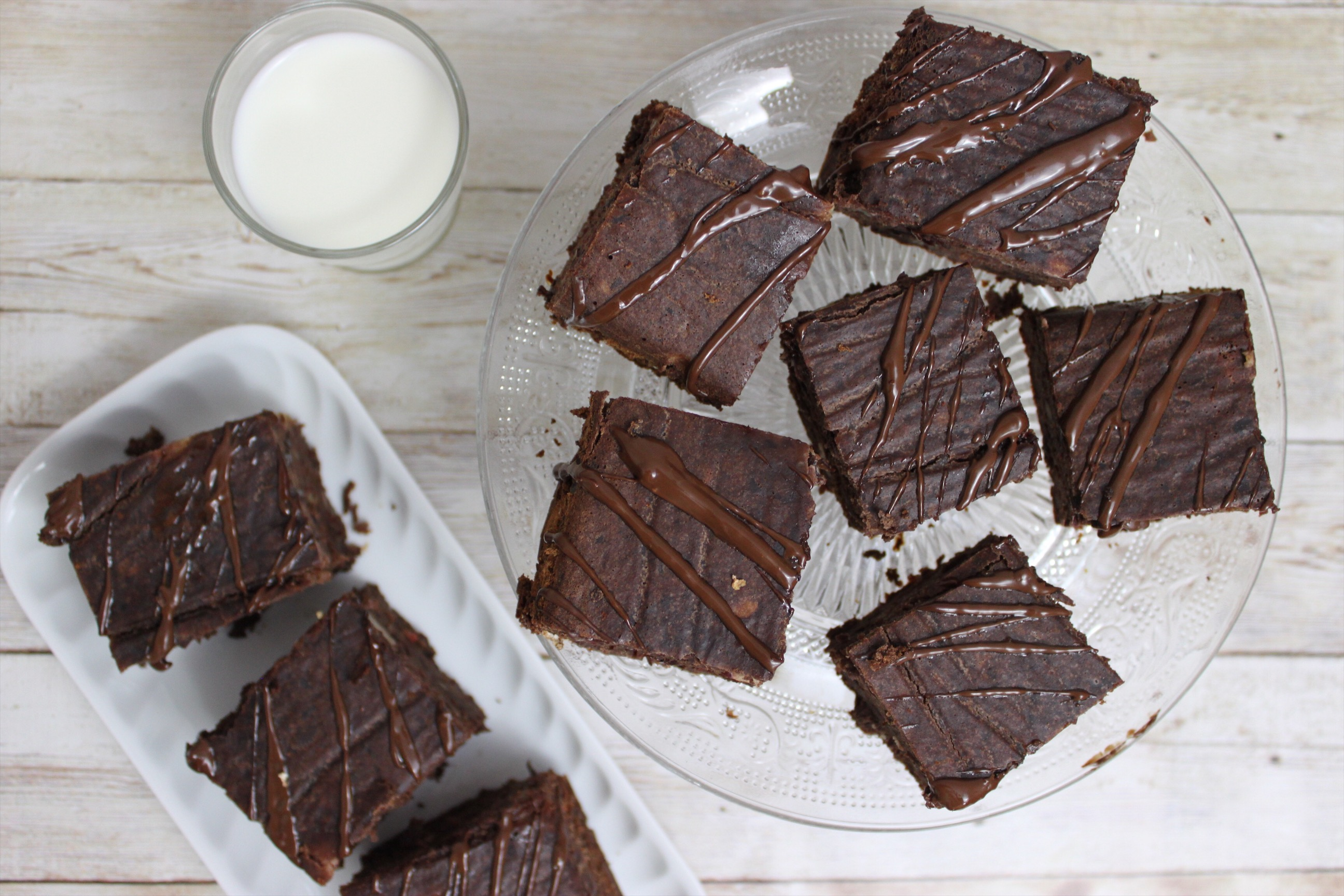 Leckere Low Carb Protein Brownies