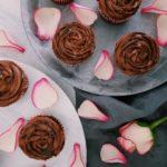Herren-Cupcake mit Salzkaramell - fructosearm und lactosefrei