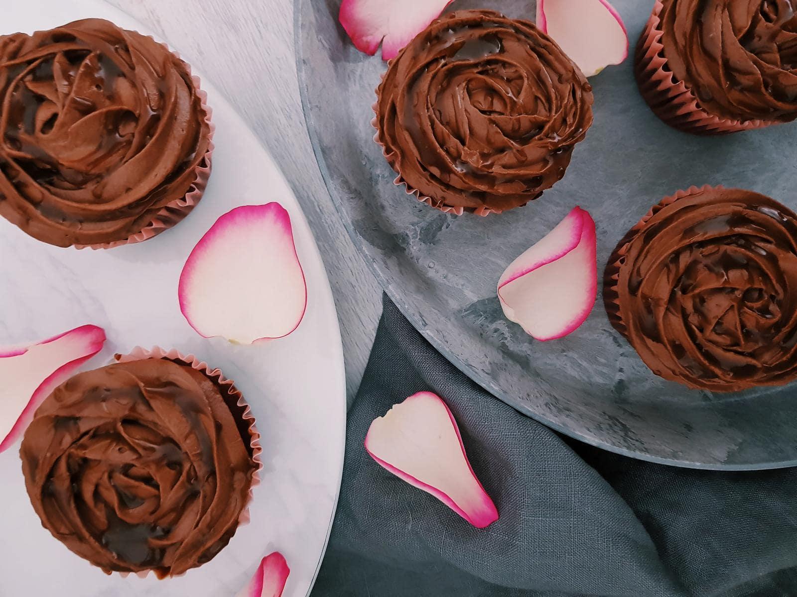 Herren-Cupcakes mit Salzkaramell – fructosearm und lactosefrei
